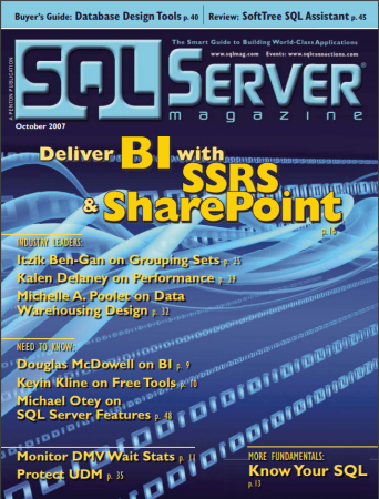 SQLServer Magazine October 2007